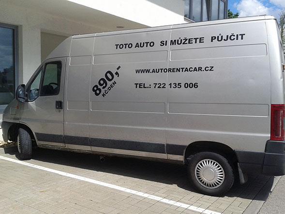 Půjčovna dodávek Brno